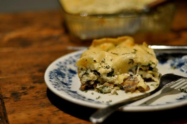 mshroom-lasagna