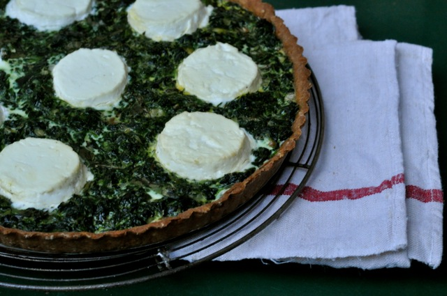 spinach-and-basil-tart