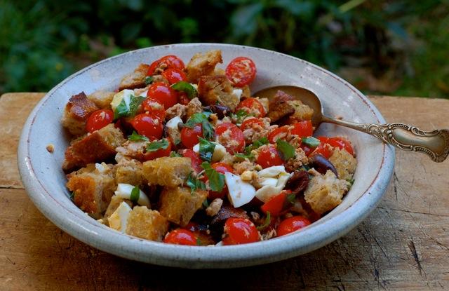 tuna-bread-salad