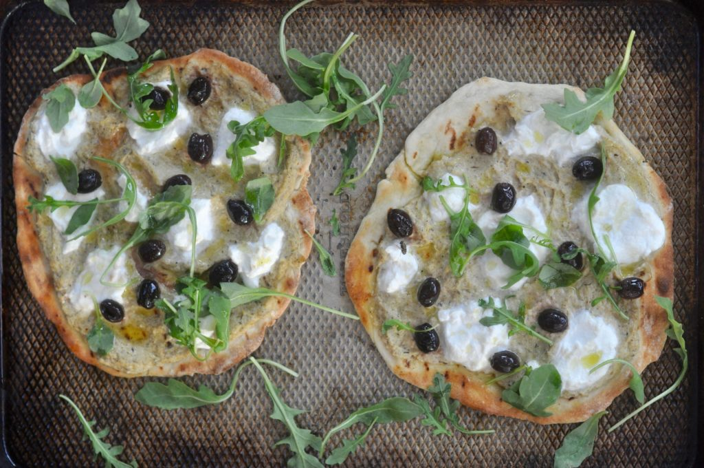 Artichoke and Ricotta Pizza | Cowgirl Chef