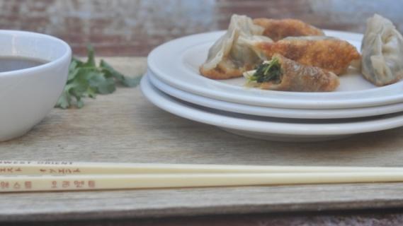 Sweet Potato + Spinach Dumplings